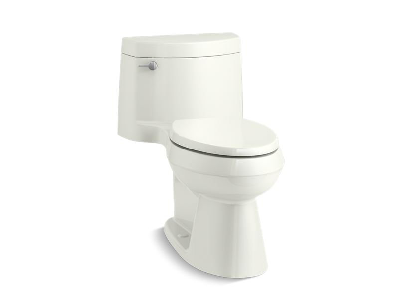 Kohler K 3828 Ra 0 Cimarron Comfort Height One Piece Elongated 1 28 Gpf Toilet With Aqua Piston Flushing Technology And Right Hand Trip Lever In White General Plumbing Supply Inc