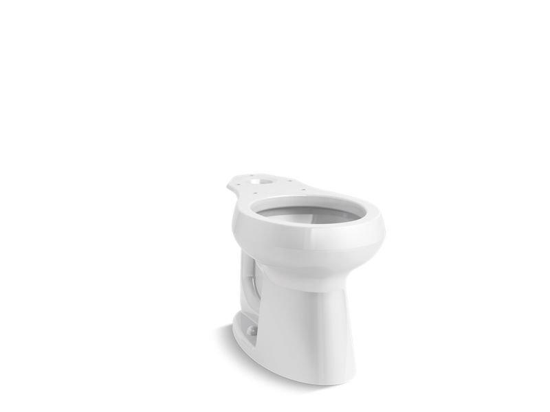 Kohler K-5393-0 Highline Comfort Height Round-Front Bowl in White