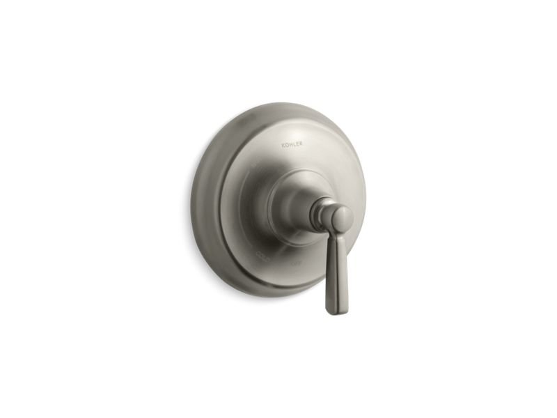 Kohler K-TS10584-4-BN Bancroft Rite Temp Valve Trim with Metal Lever Handle in Vibrant Brushed Nickel