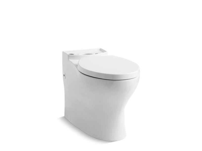 Kohler K-4326-0 Persuade Comfort Height Elongated Bowl with Skirted Trapway in White