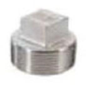 "Matco-Norca SSF304SP05 1"", Npt, Class 150, Cast, 304 Stainless Steel, Square Head, Plug"
