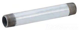 """NG1124 4"""" X 24"""" Mptxmpt S40 Lead-Free Galvanized Steel Pre-Cut Nipple"""