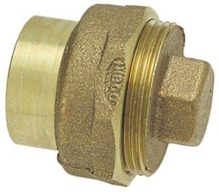 """E169100 1-1/2"""" Ftg Cast Bronze Cleanout W/Plug"""