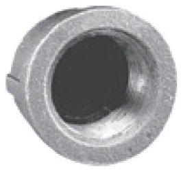 "MBCA04 3/4"" Fpt 150Psi Lead-Free Black Malleable Iron Round Head Cap"