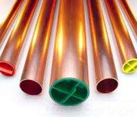 "Cerrotube 1291 4"" X 10' Red Copper Tubing"