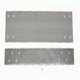 "Greenfield Fig 918_1-1/2x12 12"" X 1-1/2"" Eight Hole 18Gauge Steel Stud Protector Fha Plate"