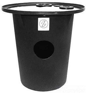 "Zoeller 31-0444 18"" X 22"" Polyethylene Sump Pump Basin"