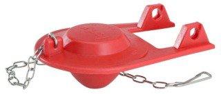 Korky 2001BP Red Rubber Toilet Flapper