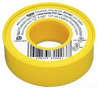 "Oatey 31403 1/2"" X 260"" Yellow Ptfe Thread Sealing Tape"