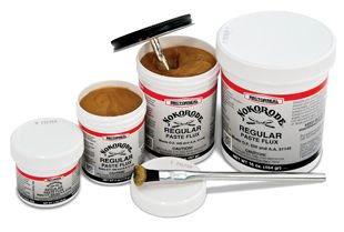Rector Seal Nokorode 14030 1Lb Can Paste Tan/Gold To Black Lead-Free Soldering Flux