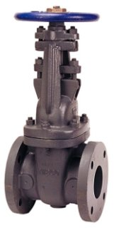 """NIBCO Fig NHA300H 4"""" Flangedxflanged 200Psi Cast Iron Solid Wedge Gate Valve"""