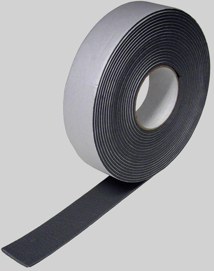 "Diversitech 6-9718 2"" X 30' 1/8"", Black, Self-Adhesive Foam, Pipe Insulation Tape"