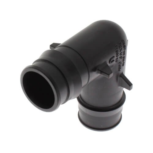 """Uponor Q4760750 3/4"""" X 3/4"""" Pexxpex 150Psi Glass Reinforced Polysulfone 90D Elbow"""