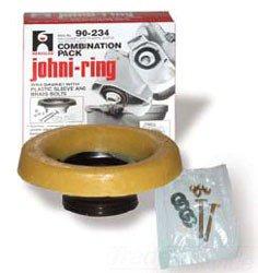 """Hercules Johni-Rings 90214 3"""" Or 4"""" Standard Waste Drain Line Wax Gasket"""