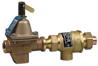 "Watts 386462 1/2"" Union Solderxnpt Bronze Combination Backflow Preventer"