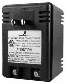 Sloan  0365534PK 120/24Vac Plug-In Faucet Transformer