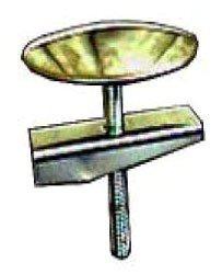 "Kissler 1641002 1-3/4"" Chrome Steel Sink Cockhole Cover"