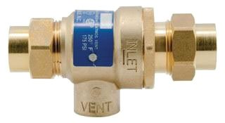 "Watts 63190 1/2"" Nptxnpt 25 To 175Psi Forged Brass Dual Check Valve"