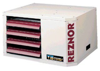 Reznor Model UDAP300 300000Btu/Hr 115Vac 11Amp 1086W White Glossy Power Vent Direct Spark Ignition Gas Fired Unit Heater