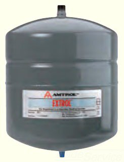 """Amtrol Extrol 101-1 8"""" X 13"""" 2Gallon 100Psi Urethane Top Coated Steel In-Line Water Heater Expansion Tank"""