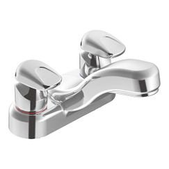 Moen 8886 Single Handle Centerset Metering Bathroom Faucet from the M-PRESS Collection