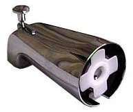 Kissler 620003 Chrome Diverter Slip-On Tub Spout