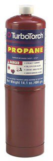 Turbo Torch 0916-0004 14.1Oz Air Acetylene Hand Torch Propane Tank