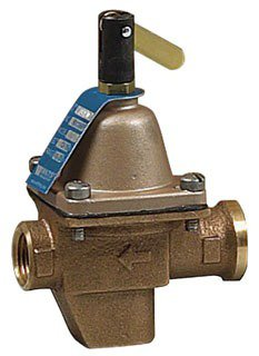 "Watts 386423 1/2"" Nptxnpt Bronze Boiler Feed Water Pressure Regulator"