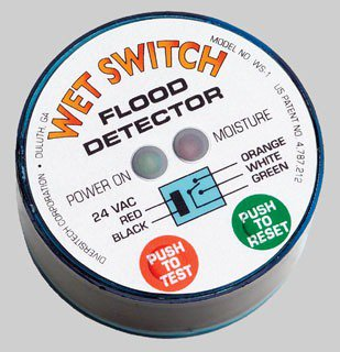 Diversitech WS-1 24Vac 2Amp Air Conditioner Condensate Drain Line Wet Switch Flood Detector