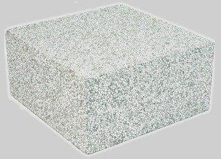 "Diversitech 7/1/1960 8"" X 4"" Gray Concrete Air Handler Styrofoam Block"