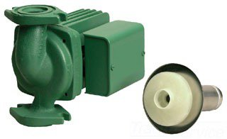 """Taco 0013-F3 3/4"""" To 1-1/2"""" Flangedxflanged 34Gpm 1/6Hp 115V 3250Rpm Cast Iron Cartridge Style Circulator Pump"""