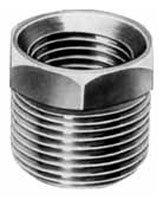 "319905360 1/4"" X 1/8"" Mptxfpt Galvanized Merchant Steel Hex Head Reducing Bushing"