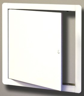 """Mifab UA1010 10"""" X Satin Coated/Primed White Stainless Steel Access Door"""