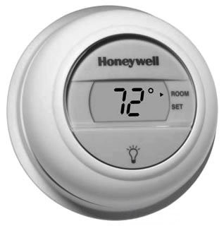 Honeywell The T8775A1009/U 20 To 30Vac Premier White Non-Programmable Thermostat