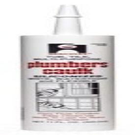 Hercules Plumbers 25615 11Oz Cartridge White Siliconized Acrylic Latex Caulk