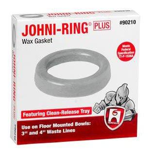 """Hercules Johni-Rings 90241 3"""" Or 4"""" Jumbo Waste Drain Line Wax Gasket"""