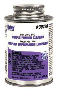 Oatey 30780 4Oz Can Purple Pvc/Cpvc Primer