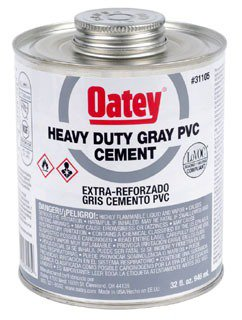 Oatey 31105 32Oz Can Gray Heavy Solvent Cement