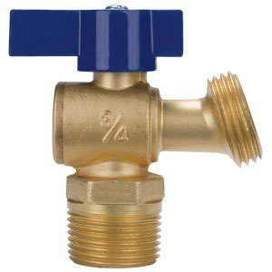 """NIBCO NB64MH6 1/2"""" Soldered Cup/Mptxhose 125Psi Brass Boiler Drain Valve"""