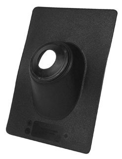 """Oatey No-Calk 11909 2"""" 45D Pitch Black Thermoplastic Standard Roof Flashing"""