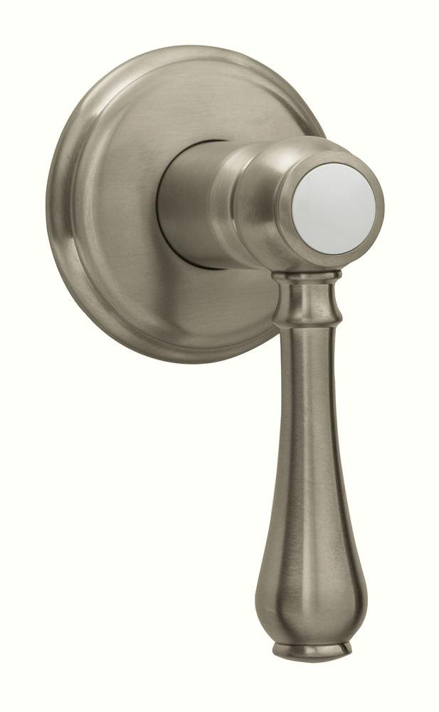Grohe 19837  Geneva 2 5/8 Inch Volume Control Trim with Lever Handle in Brushed Nickel