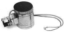 """Weil-McLain 381-800-446 10"""" Boiler Vent Damper Assembly"""