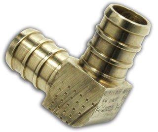 "Watts 653101 1/2"" X 1/2"" Crimpxcrimp Brass 90D Elbow"