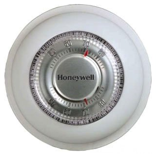 Honeywell The T87K1007/U 20 To 30Vac Premier White Non-Programmable Thermostat