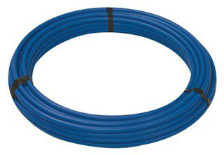 "NIBCO Fig PX60127 1"" X 20' Blue Cross-Linked Polyethylene Stick Tubing"