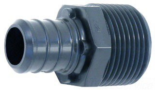 """Watts 650673 1/2"""" X 1/2"""" Crimpxmpt Poly-Alloy Adapter"""