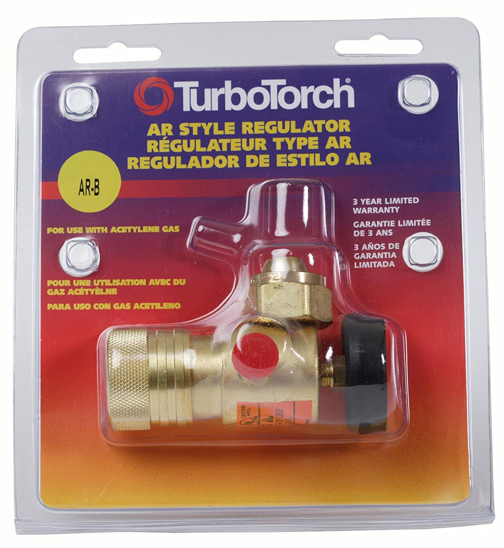 Turbo Torch 0386-0725 Air Acetylene Torch Regulator