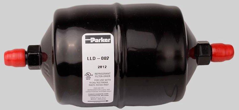 "Diversitech DAD082 1/4"", Flarexflare, Powder Painted, Refrigerant Liquid Line Drier"
