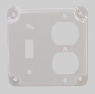 "Diversitech Model PI368 4"" X Toggle Switch/Duplex Receptacle Utility Box Cover"