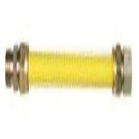 """Safetyshield 240174 1/2"""" X 48"""" Mptxmpt Stainless Steel Flexible Gas Connector"""